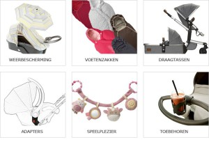 Beste wandelwagen kopen gids - accesoires