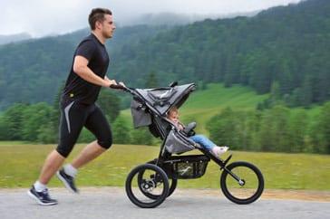 Kinderwagen kopen tips - joggingskinderwagen