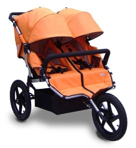 All-terrain duo kinderwagens