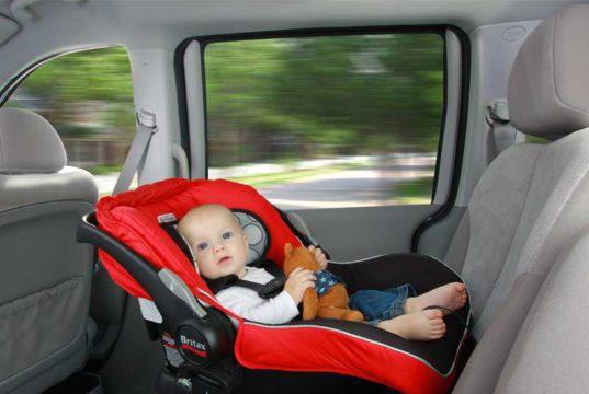 Babyveiligheid in de auto
