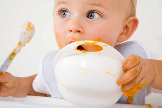 Etende baby