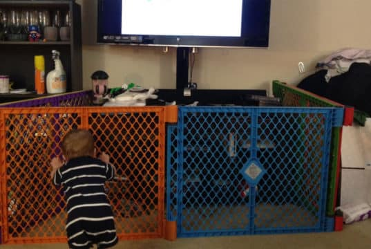 Televisie babyveilig maken
